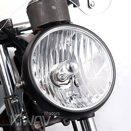 Amazon Com Kiwav Sirius 7 Inch Round Motorcycle Headlight Headlamp