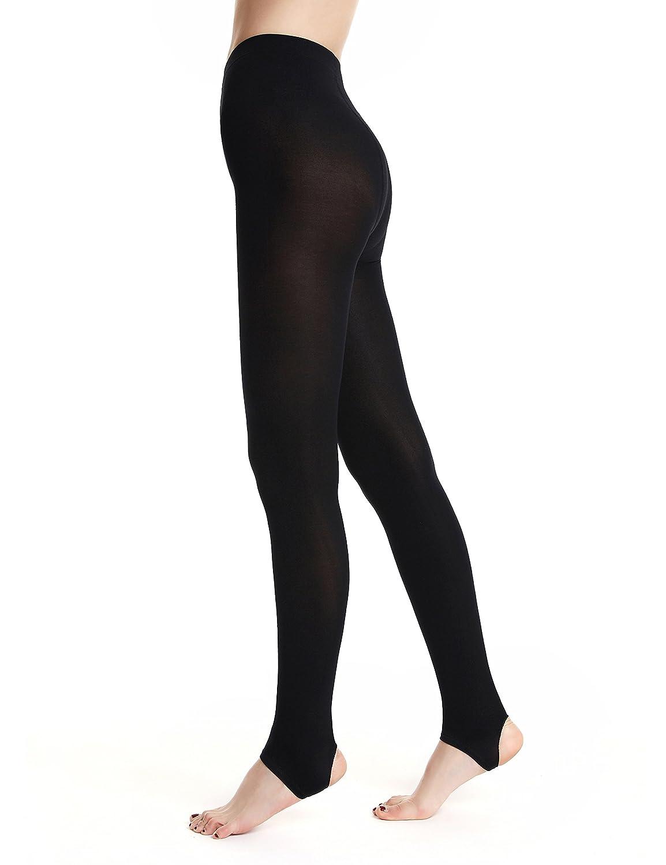 AMORETU Femmes Collant Legging minceur Opaque sculptant gainant ... 74630dbab75a