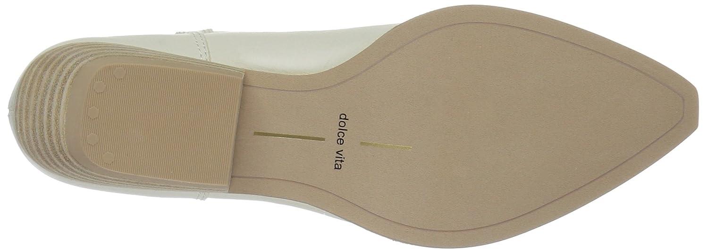 Dolce Vita Women's Union Fashion Boot B07B9MSW87 10 B(M) US|Off White Leather