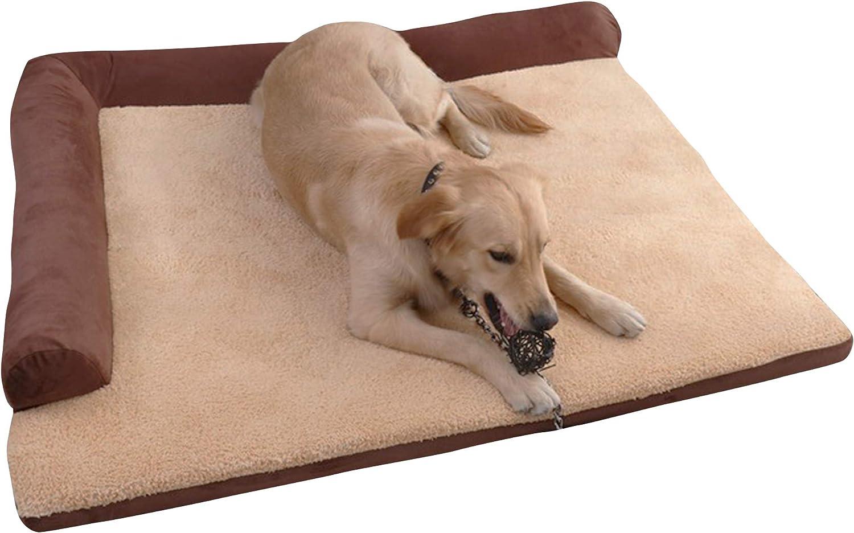 Cesta para Mascotas de Felpa 4 tama/ños L Lavable y Resistente a los ara/ñazos casa para los Perros y Gatos