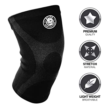 8344733470 Elite Health and Fitness Compression Knee Sleeves   Crossfit, Running,  Sports, and Weightlifting
