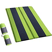 Inflatable Sleeping Pad Weisshorn Lightweight Camp Sleeping Mat Air Bed 2.5CM-Thick Rollable Mattress for Camping Tent…