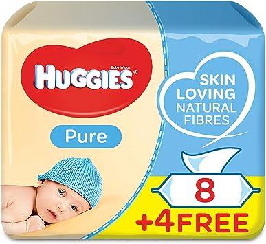 Huggies Toallitas para bebe, 4 paquetes de 168 piezas: Amazon.es: Salud y cuidado personal