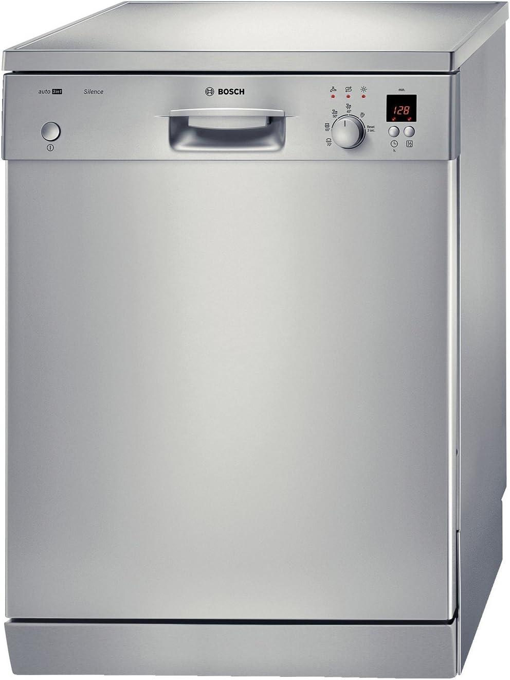 Bosch SGS55E98EU lavavajilla - Lavavajillas (Independiente, Acero ...