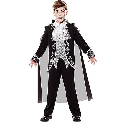 Disfraz de Vampiro Gótico para niño: Amazon.es: Juguetes y juegos