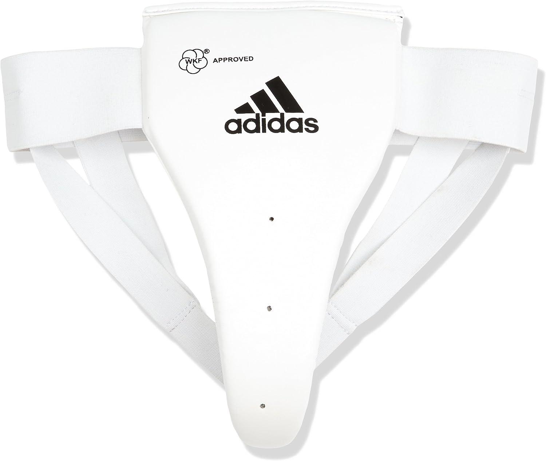 Adidas Women 's WKF承認Protective Groin Guard – ホワイト  Small