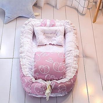 Amazon.com: Cuna portátil plegable para bebé cama de viaje ...