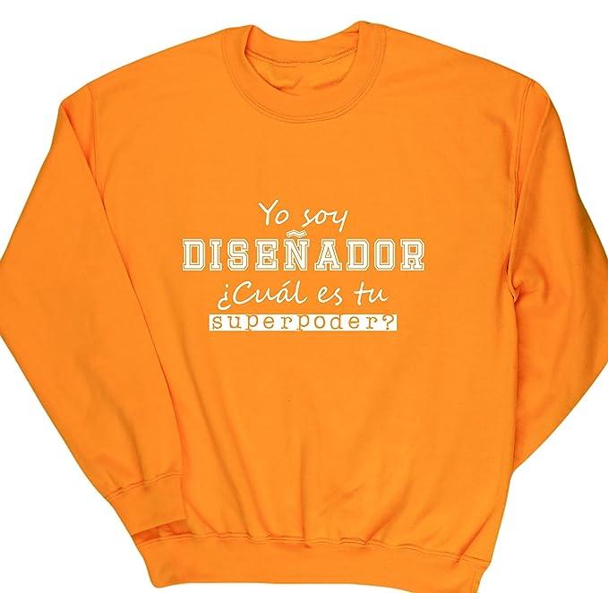 HippoWarehouse Yo Soy Diseñador, ¿Cuál es tu Superpoder? jersey sudadera suéter derportiva unisex: Amazon.es: Ropa y accesorios