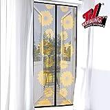 tv unser original 3238 moskitonetz mit magnetverschluss magic klick 90 x 210cm. Black Bedroom Furniture Sets. Home Design Ideas