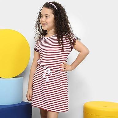 a35fa6eeb Vestido Infantil Lilica Ripilica Estampado Amarração - Vermelho - 06 ...