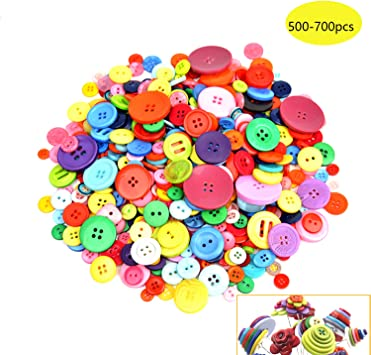 26 Lot Of Colours /& 3 Sizes Sewing Crafts Size 18 100 Round Star Buttons 22