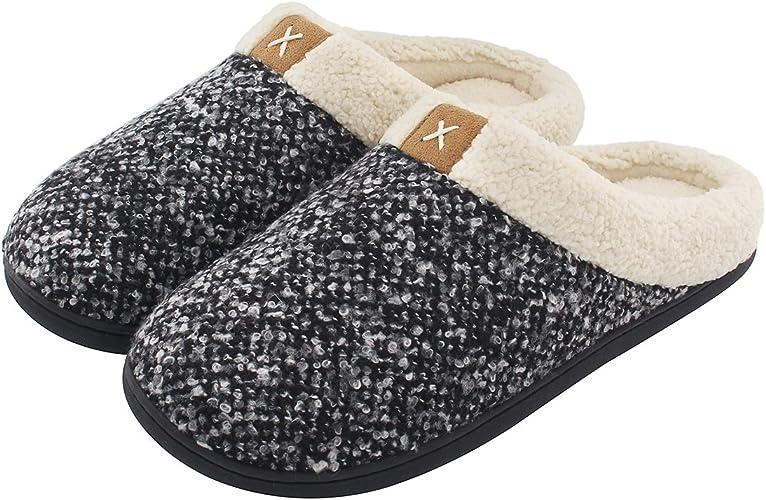 memory foam slippers womens