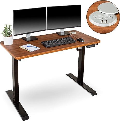 Best home office desk: BRODAN Electric Standing Desk