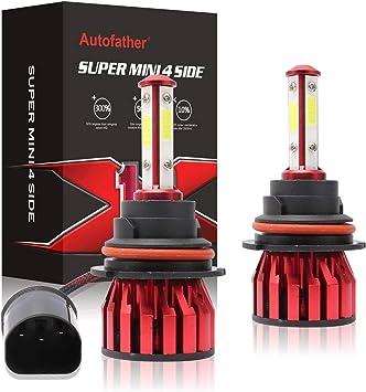 40W 1 Set LED Headlight Light Bulb H4 9-36V SUPER WHITE//HID Bulbs Lamp 6000K