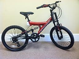 .com : Avigo Open Force 20 inch BMX Bike - Boys : Sports & Outdoors