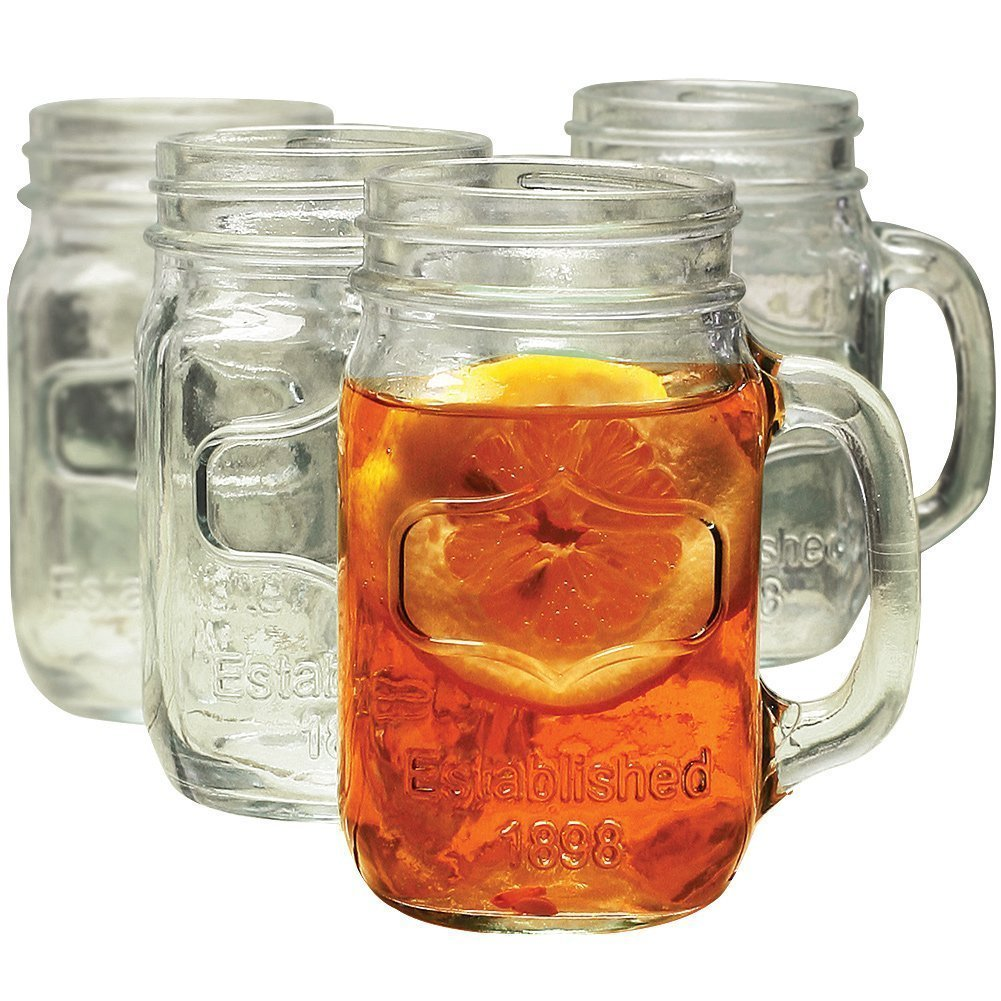 Yorkshire Mason Jar Mug, Set of 8 by Yorkshire (Image #1)