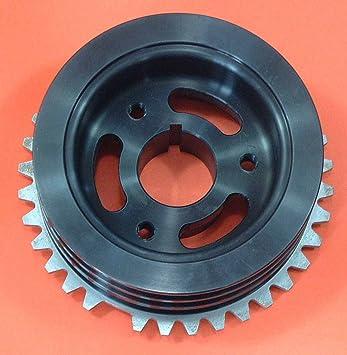 cosworth YB TWD front crankshaft crank pulley 36-1: Amazon