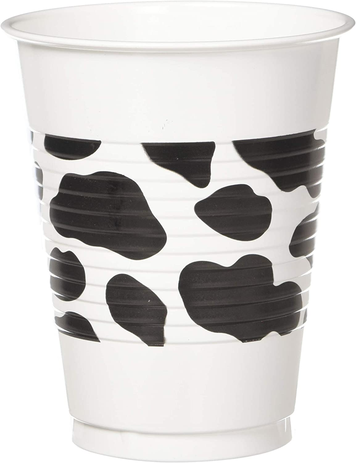 amscan Western Printed Plastic Cups, One Size, Multicolor