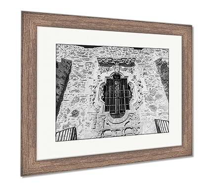 Amazon.com: Ashley Framed Prints Rose Window of The Historic Old ...