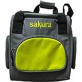 Sakura SS5276 Cooler Bag 12 volt - Grey/lime green