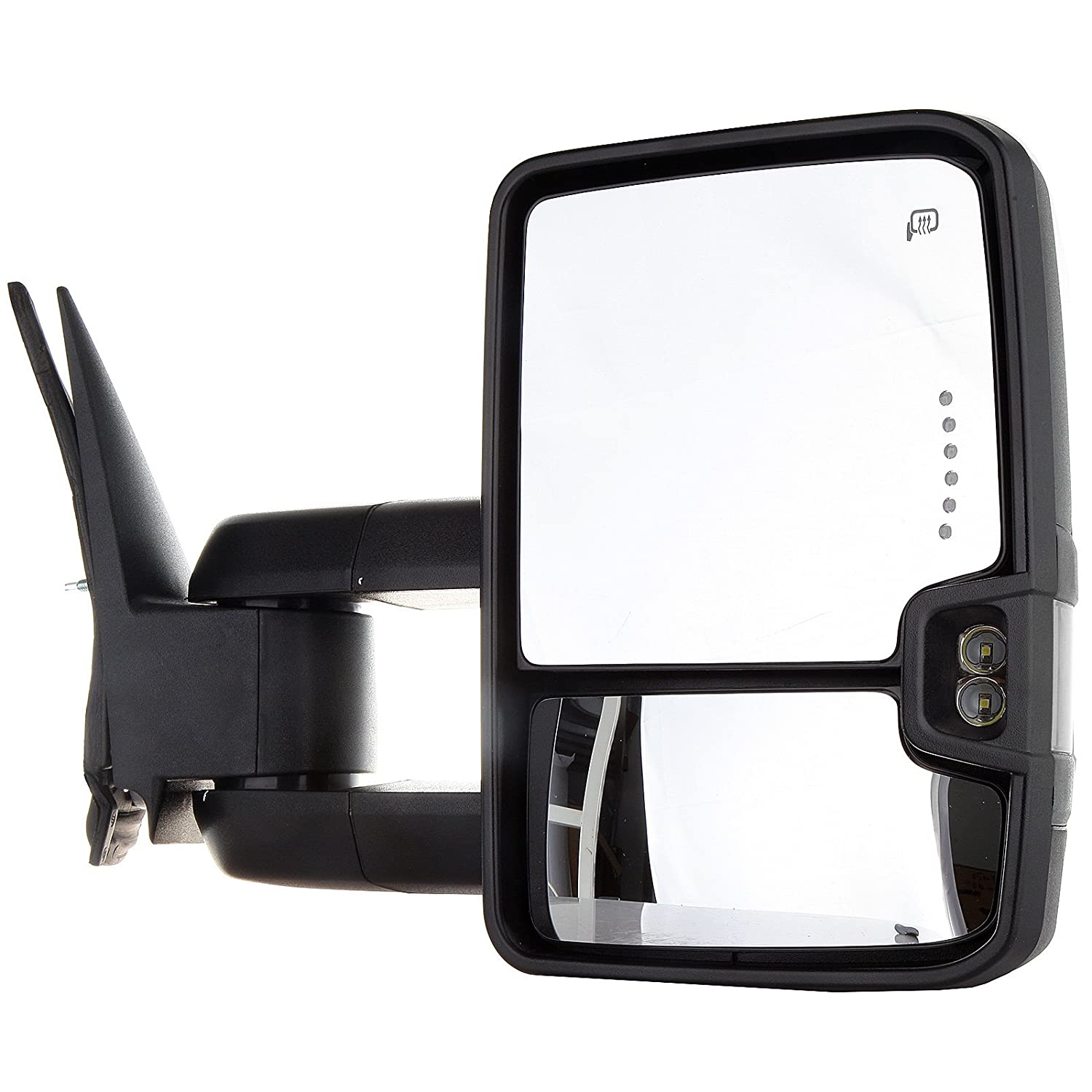 Towing Mirrors Exterior Accessories For Chevy Lighted Heated Tow Mirror Wiring Diagram Gmc 2003 2006 Silverado Sierra 07 Classic Models Pair Rear View With Turn Signal