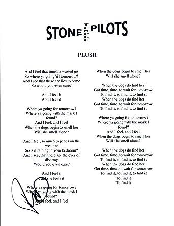 Stone Temple Pilots Plush Lyrics Tight Dress