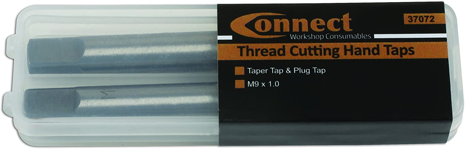 Connect Tap M9 x 1.0 Taper Tap /& Plug Tap 2 Pieces from 4554-37072L
