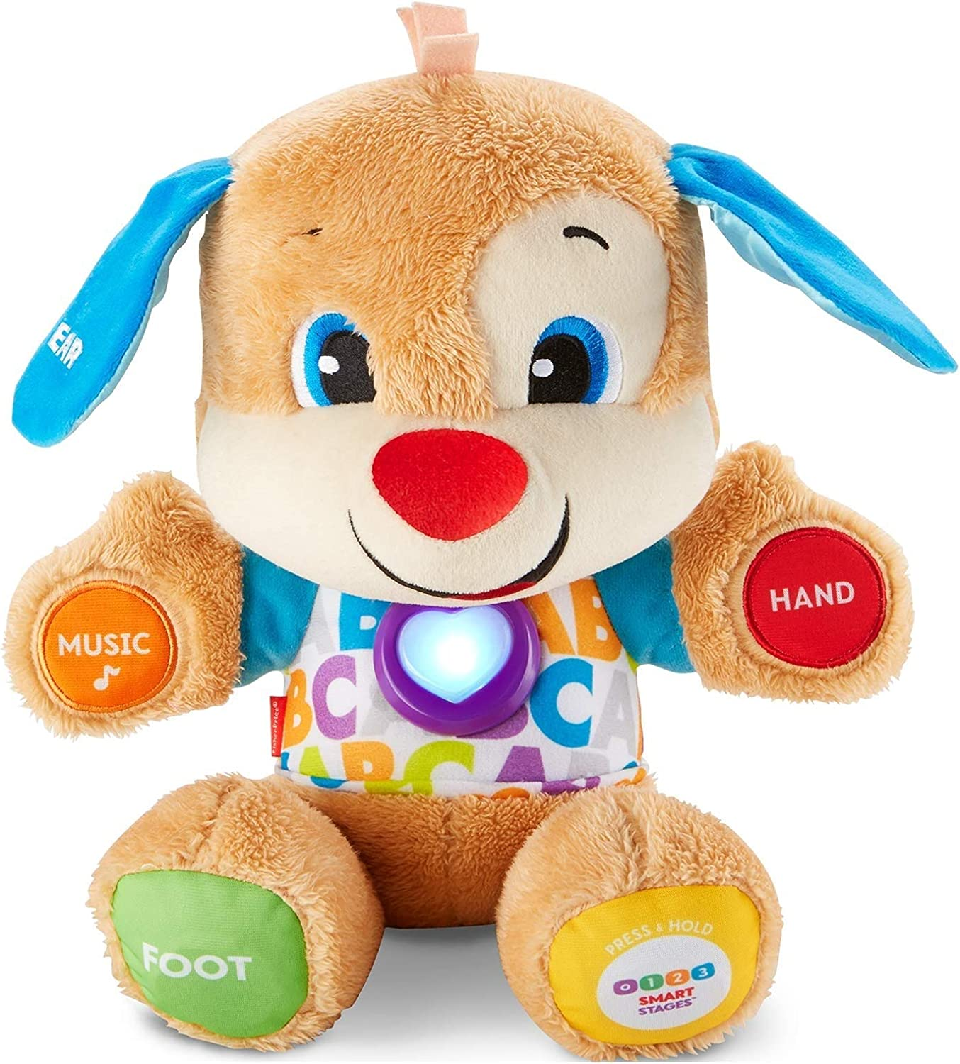 an image of FisherPrice electronic learning toy with music for toddler