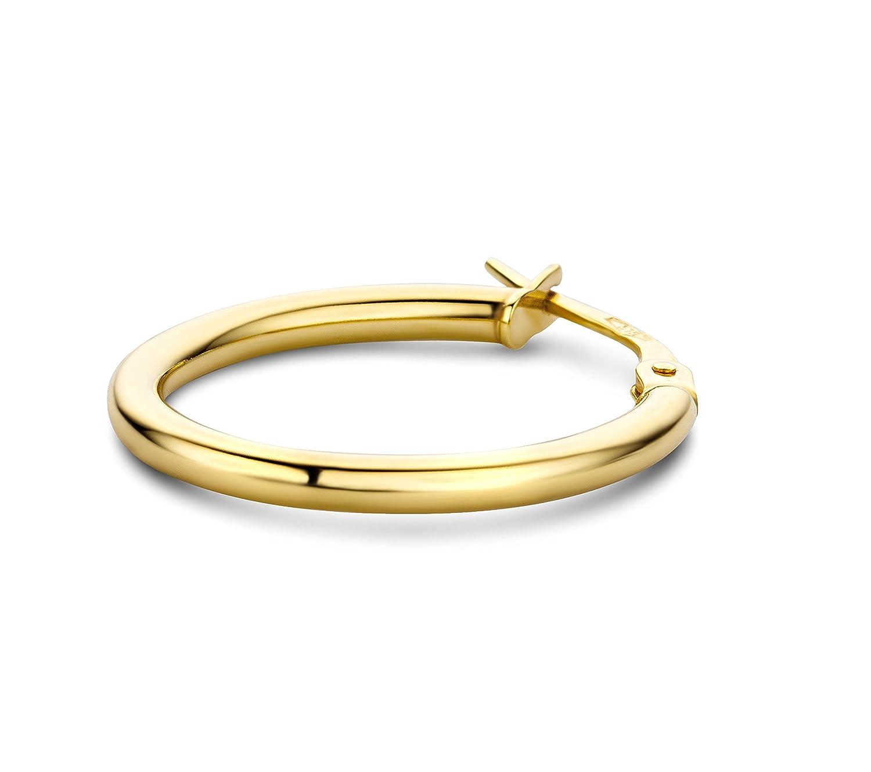 Miore - Pendientes de oro amarillo de 9 quilates sin gema con cierre de  cierre de aro: Amazon.es: Joyería