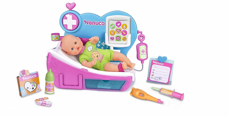 Amazon.es: Nenuco - Muñeca Doctora por qué llora (Famosa 700012388): Juguetes y juegos