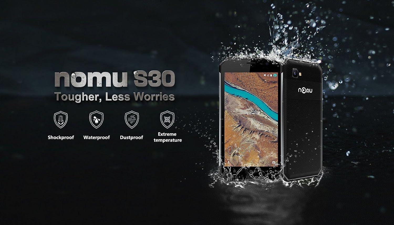Nomu S30-5.5 Inch Gorilla Glass 3 Pantalla IP68 Impermeable al ...