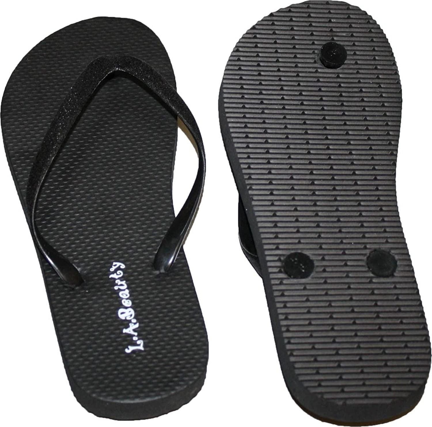 Womens Flip Flop With Glitter Straps and Comportable Footbed, Cool Looking Style