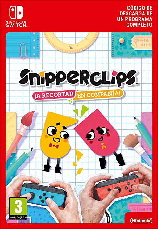 Snipperclips: Cut it out - together | Switch- Download Code: Amazon.es: Videojuegos