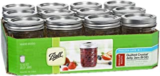 product image for Ball Mason 8oz Quilted Jelly Jars with Lids and Bands, Set of 12