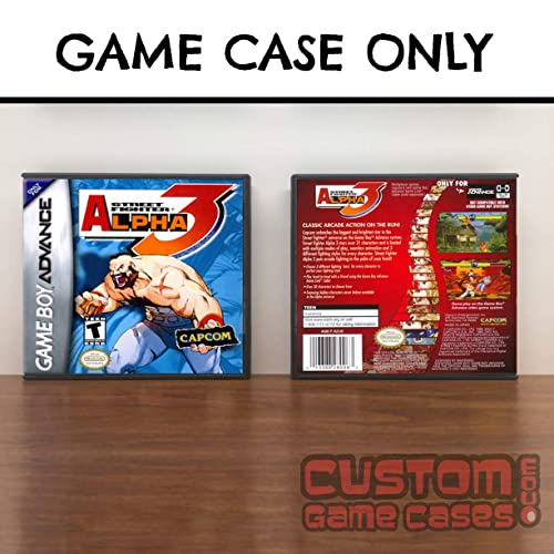 Amazon Com Gameboy Advance Street Fighter Alpha 3 Case Handmade