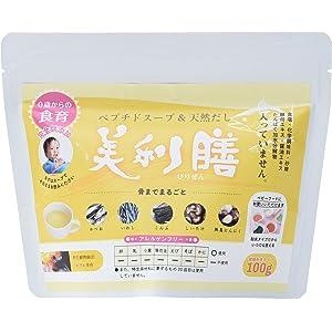 日本ライフィックス ペプチドスープ&だし「美利膳」ベビーフード 100g