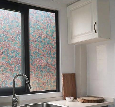 GX&XD Película para Ventanas Pegatinas de la Ventana Dormitorio protección Solar baño baño Opaco Puerta corredera Cocina-E 90x200cm(35x79inch): Amazon.es: Hogar