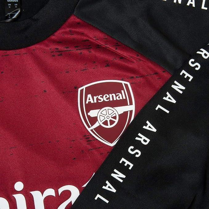 adidas Arsenal 2021 EU Pre Game Jacke Schwarz Herren