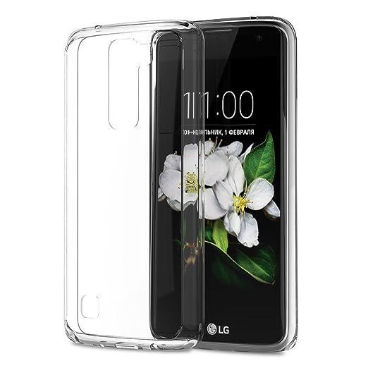 6 opinioni per Custodia Cover LG K7, iVoler LG K7 Silicone Caso Molle di TPU Cristallo