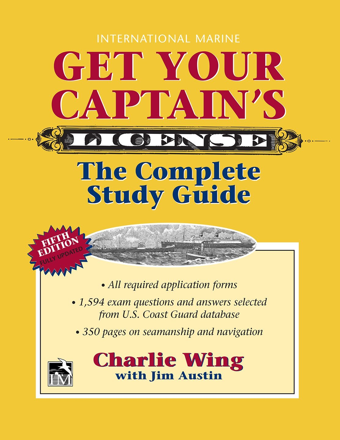 Get Your Captains License 5th Charlie Wing 9780071848374 Amazon