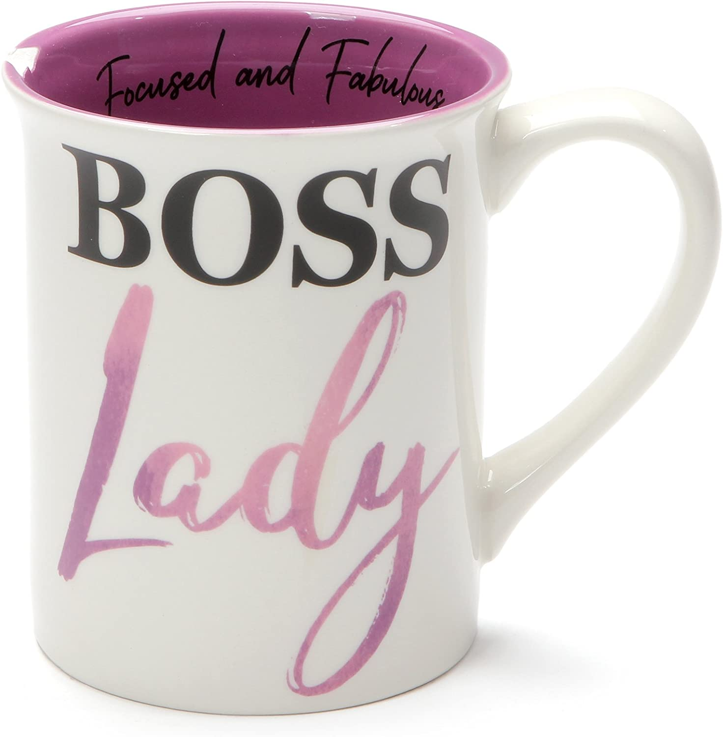 Boss Lady Be Goal Digger 16 Ounce Ceramic Coffee Mug