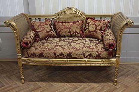 LouisXV Divano Antico stile barocco mosohm37: Amazon.it: Casa e cucina