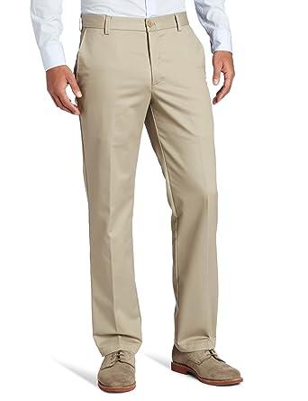 1dd6300f42 IZOD Men's American Chino Flat Front Slim Fit Pant at Amazon Men's ...