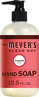 product image for Mrs. Meyer's Liquid Hand Soap Rhubarb 12.5 Fl Oz (Pack of 1)