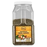 Gel Spice Imported Basil Leaves 28oz