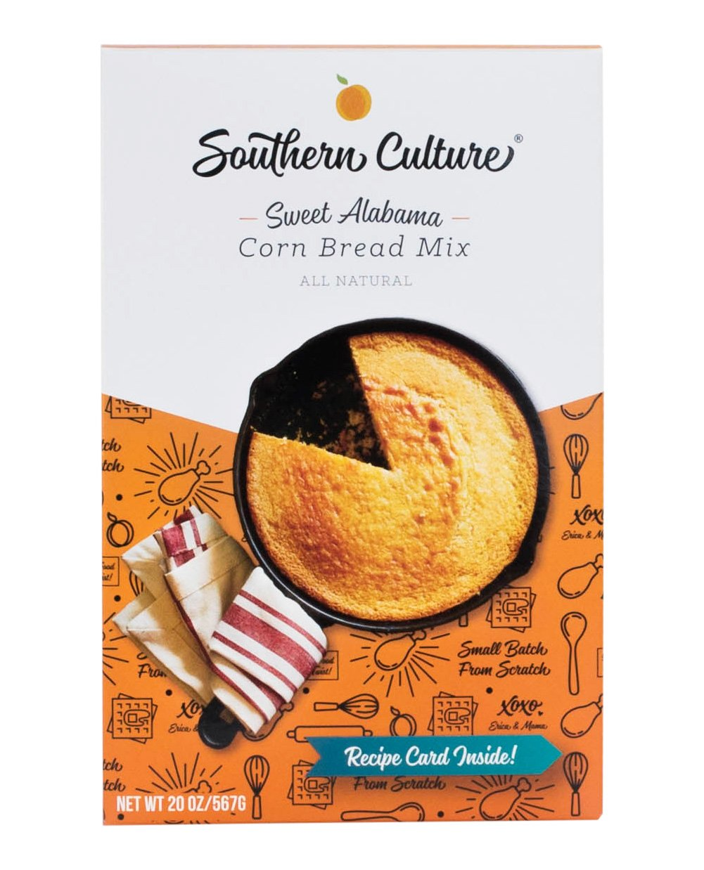 Southern Culture Foods Sweet Alabama Corn Bread Mix