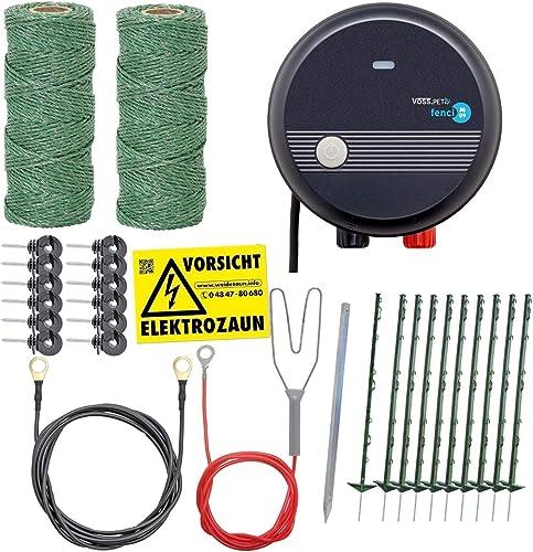 VOSS.farming-Elektrischer-Hundezaun-Komplettset