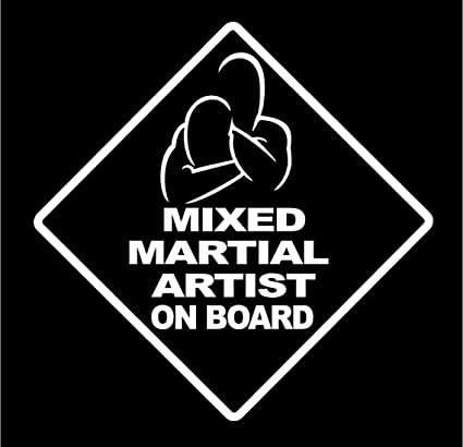 Jiu Jitsu Triangle Choke Vinyl Sticker