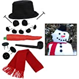 Evelots 3070 Build Your Own Snowman Kit