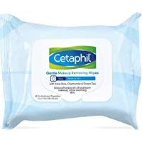 Cetaphil Gentle Makeup Removing Wipes, 25 towelettes